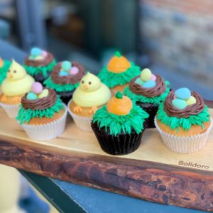 Deluxe Easter Cupcakes